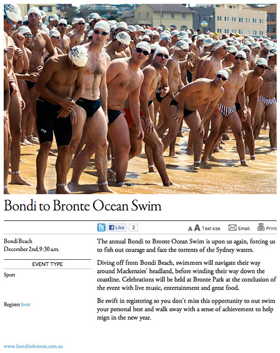 broadsheet bondi to bronte ocean swim